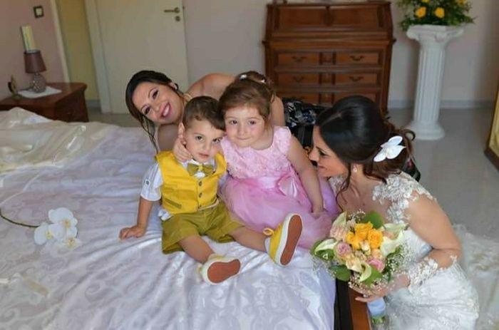 Foto della Camera da letto il giorno delle nozze 4