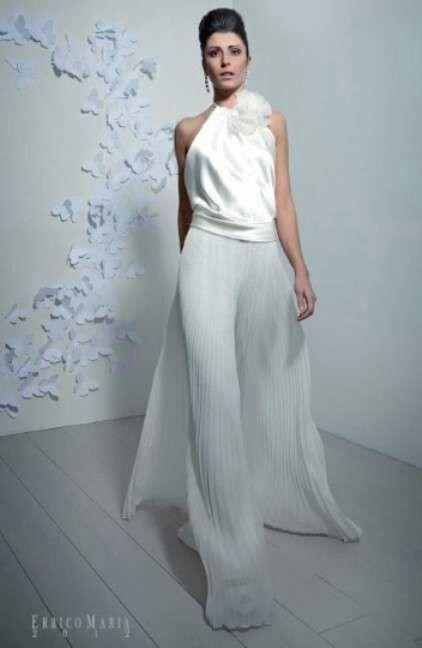9a7652549234 Abiti da sposa con pantaloni - Moda nozze - Forum Matrimonio.com