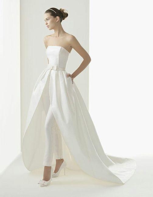 super popolare e4c07 210e0 Abiti da sposa con pantaloni - Moda nozze - Forum Matrimonio.com