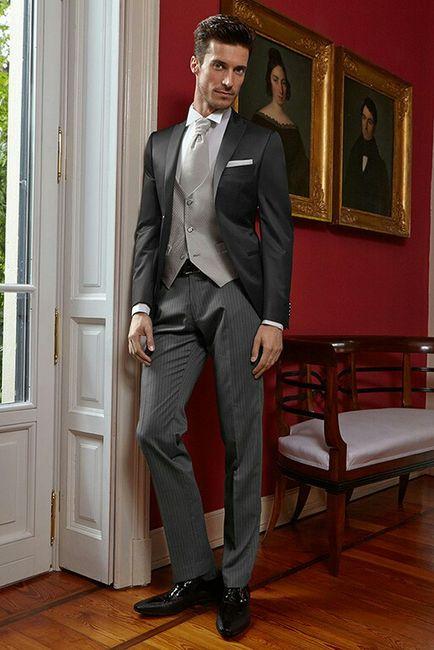 Vestito sposo: il mezzo tight 1