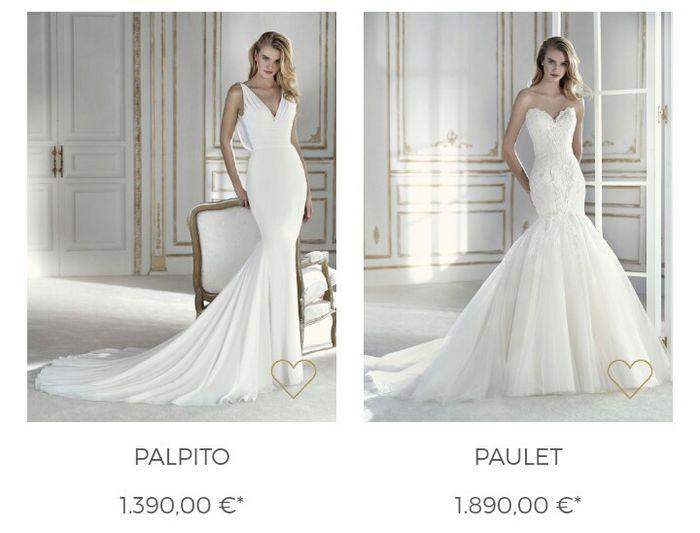 3d24a5522cf7 La sposa barcelona 2018  abiti e prezzi - Moda nozze - Forum ...