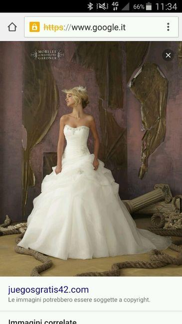 elenco abiti da sposa