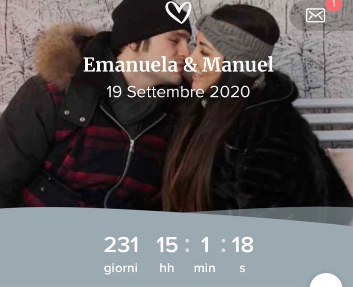Quanti giorni mancano al vostro matrimonio? - 1