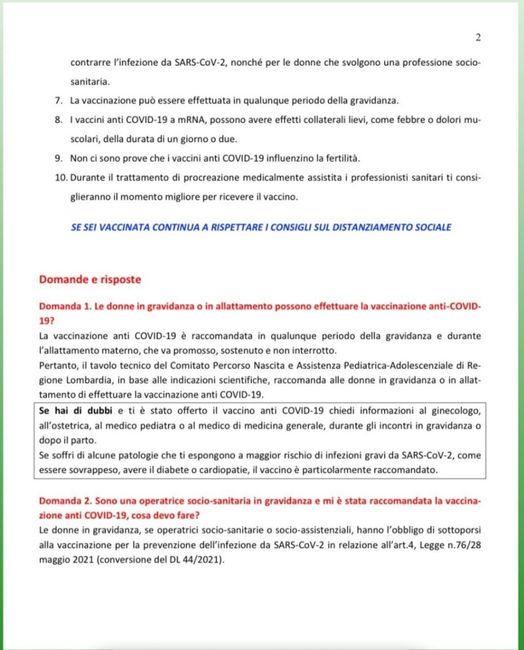 Vaccino e ricerca gravidanza!!!help!!! 1