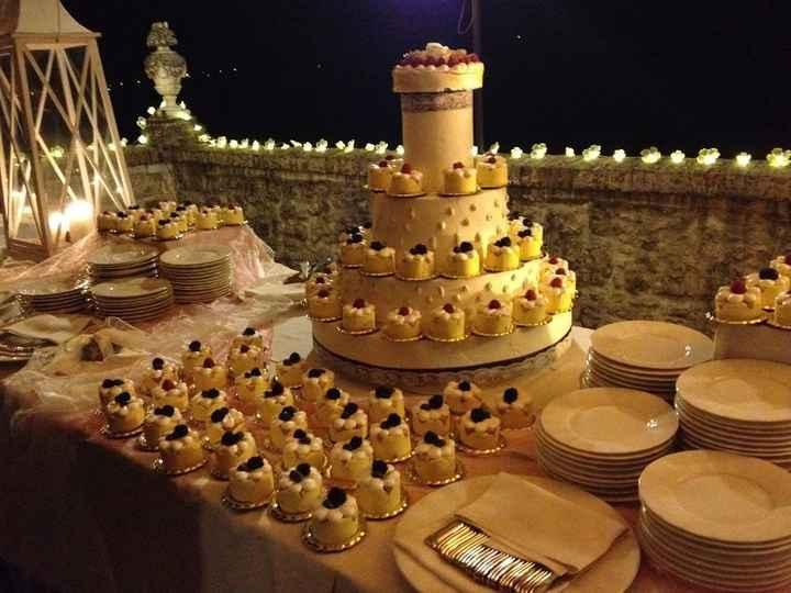 LA MIA WEDDING CAKE