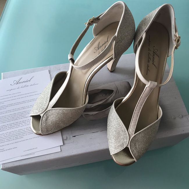 Come saranno le vostre scarpe da sposa? 6