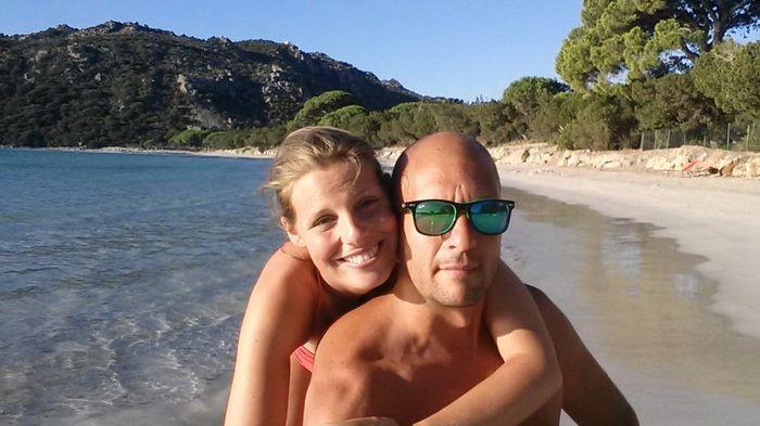 Eccoci, prima estate insieme e la nostra spiaggia... Santa Giulia, Corsica