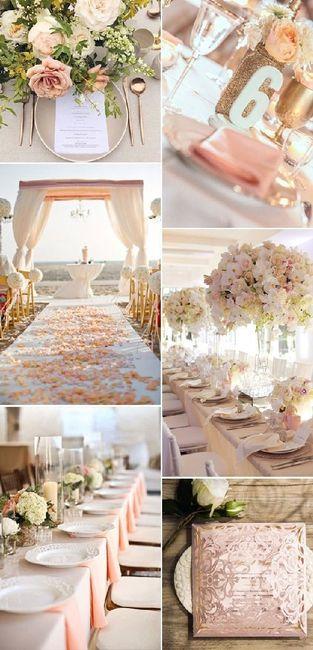 Matrimonio In Rosa E Bianco : Color pesca rosa e bianco organizzazione matrimonio