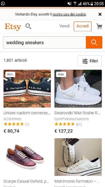 e9c3443859e9 Sneakers da sposa - Moda nozze - Forum Matrimonio.com