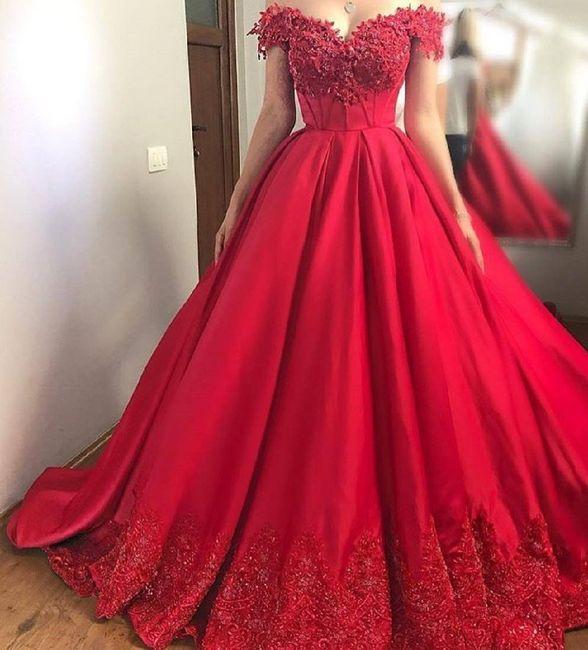 9be99539fa43 Abito Rosso - Moda nozze - Forum Matrimonio.com