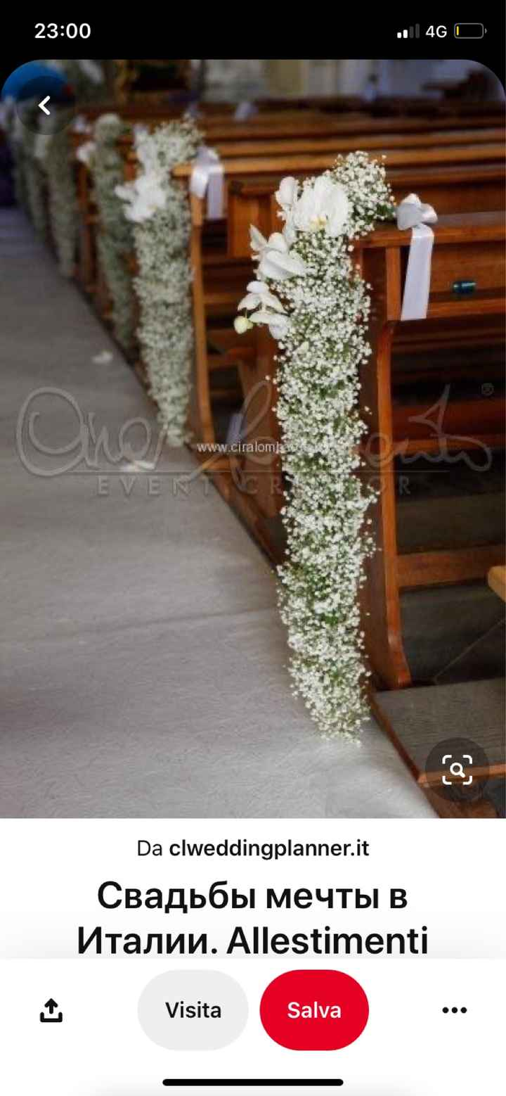 Preventivo fiori chiesa e sala - 1