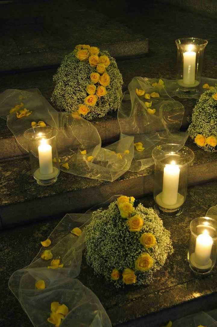 Fiori matrimonio aprile gialli/bianchi - 1