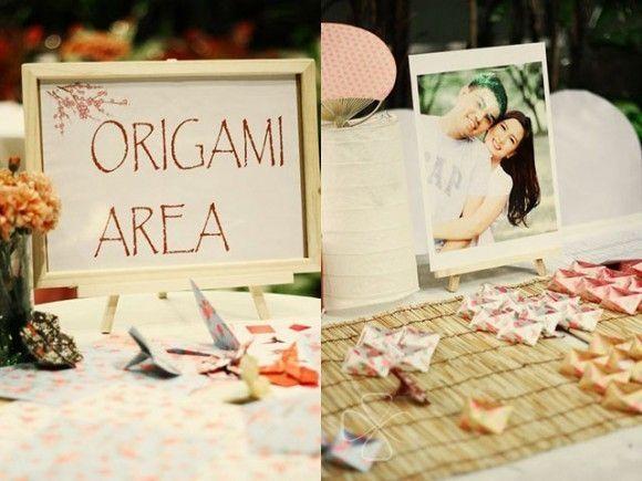 spesso Idee matrimonio a tema giappone e origami - Organizzazione  TR19
