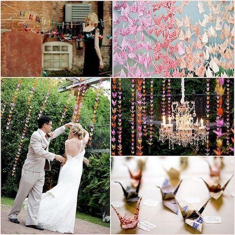 Matrimonio Tema Origami : Idee matrimonio a tema giappone e origami organizzazione
