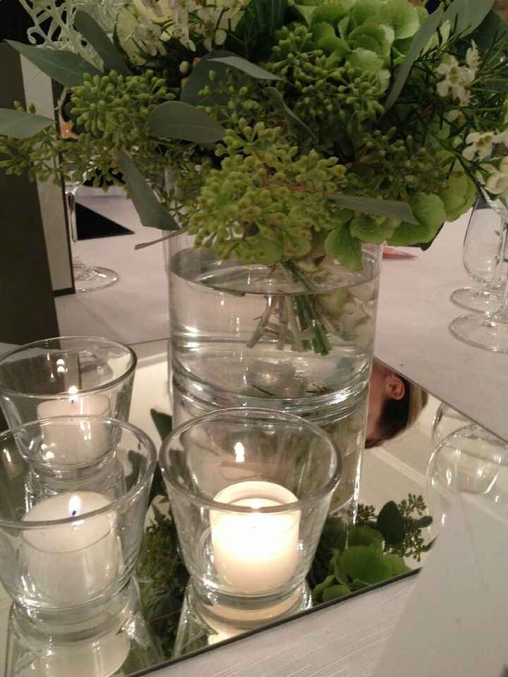 Candele e lanterne al ricevimento - 1