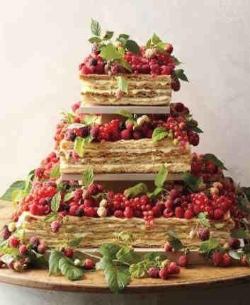 Le nuove torte all 39 americana ricevimento di nozze for Decorazione torte millefoglie