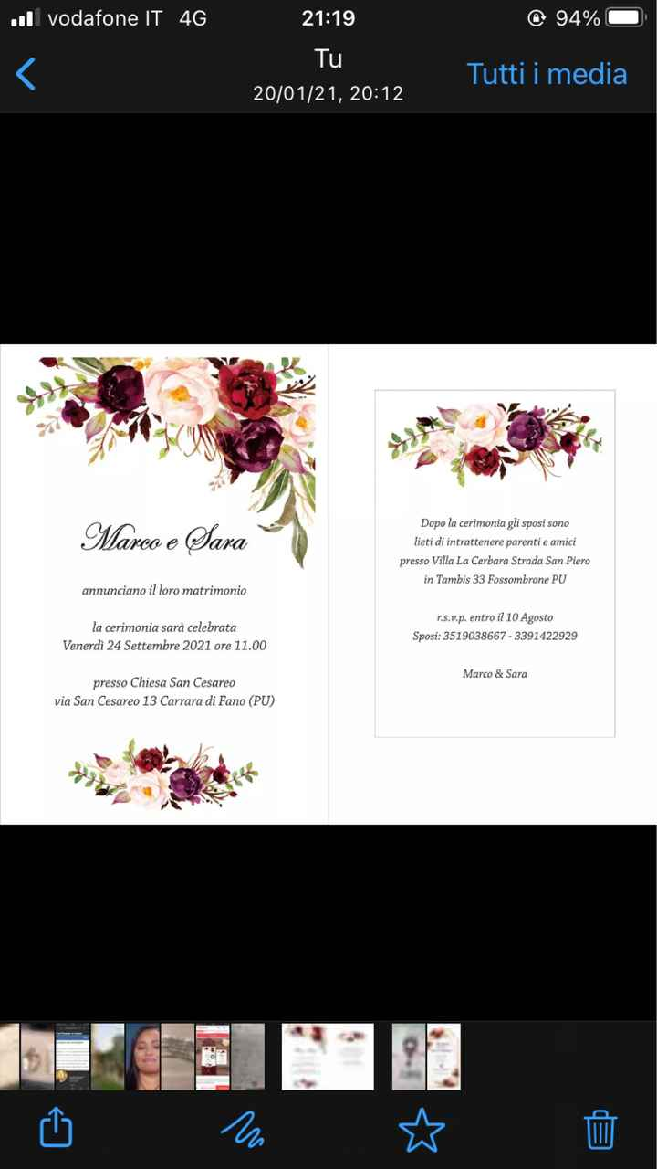 Che ne pensate ❤️ex sposa 18 aprile ..24 settembre ❤️ - 2