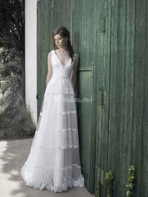 Abiti sposa country shabby chic - 24