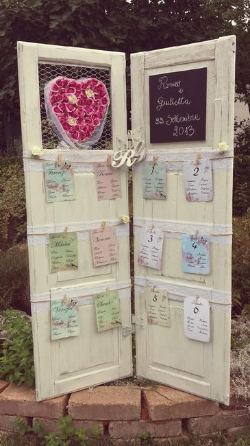 tableau de mariage shabby chic organizzazione matrimonio forum. Black Bedroom Furniture Sets. Home Design Ideas
