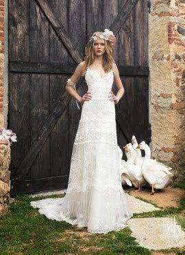Matrimonio Country Chic Abito Sposa : Abiti sposa country shabby chic moda nozze forum matrimonio