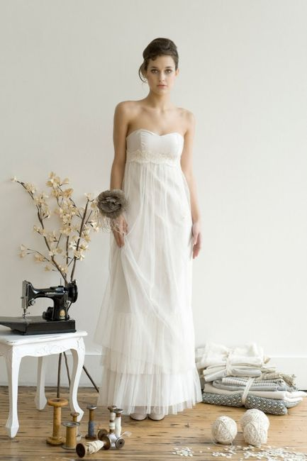 Matrimonio Country Chic Vestito : Abiti sposa country shabby chic foto