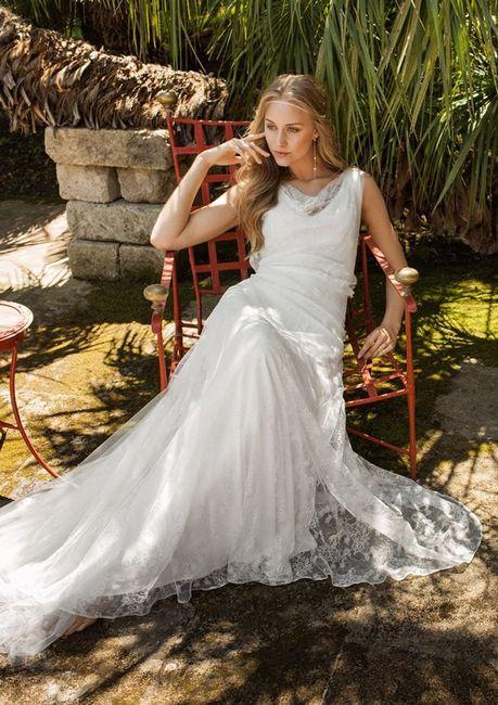 Matrimonio Country Chic Abiti : Abiti sposa country shabby chic foto moda nozze