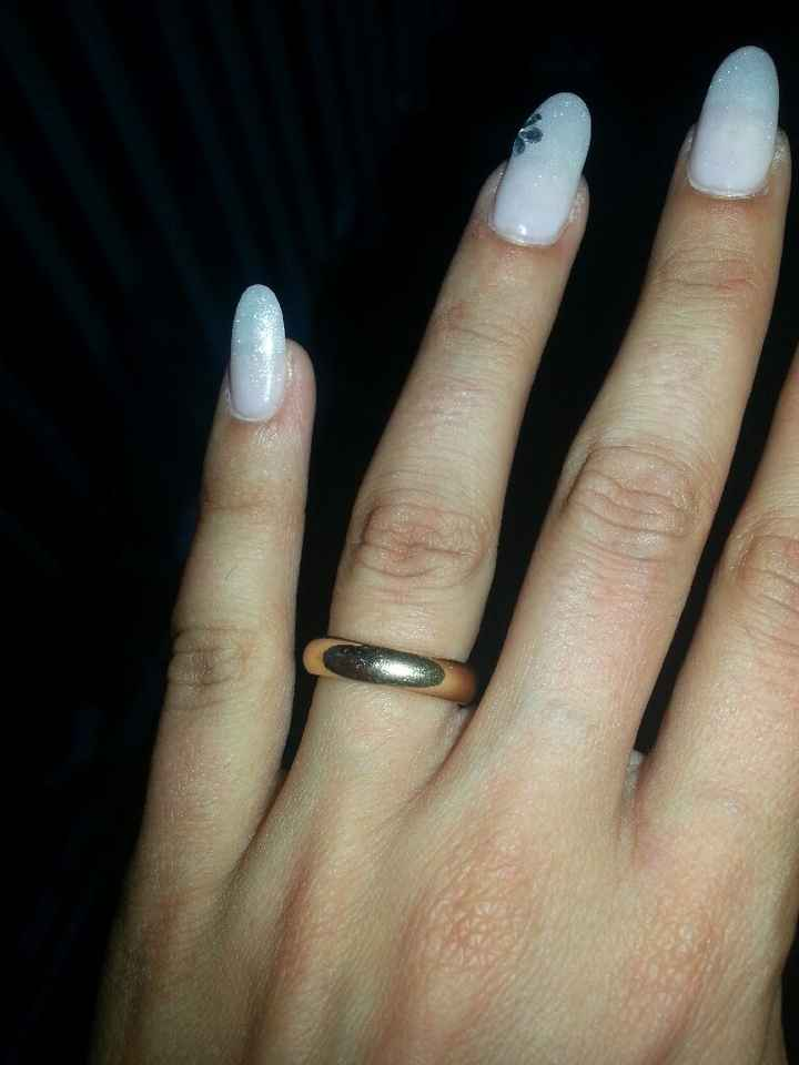 Che forma di unghie avete scelto per il vostro matrimonio? - 2