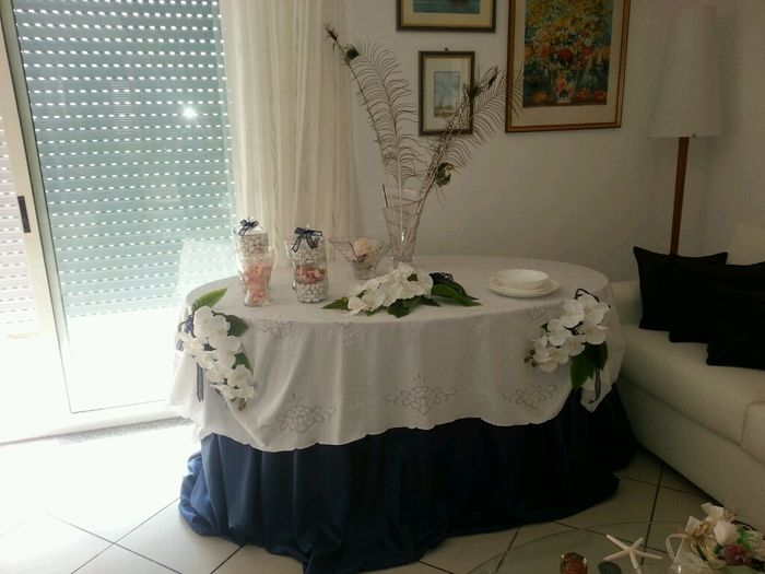 Tavoli da sposa per regali ix63 regardsdefemmes - Tavolo sposa a casa ...