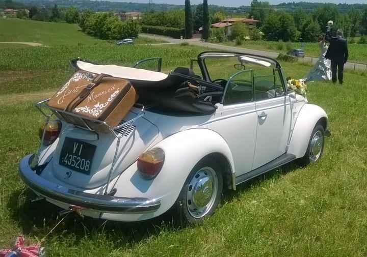 e anche l auto per il matrimonio è stata prenotata - 1