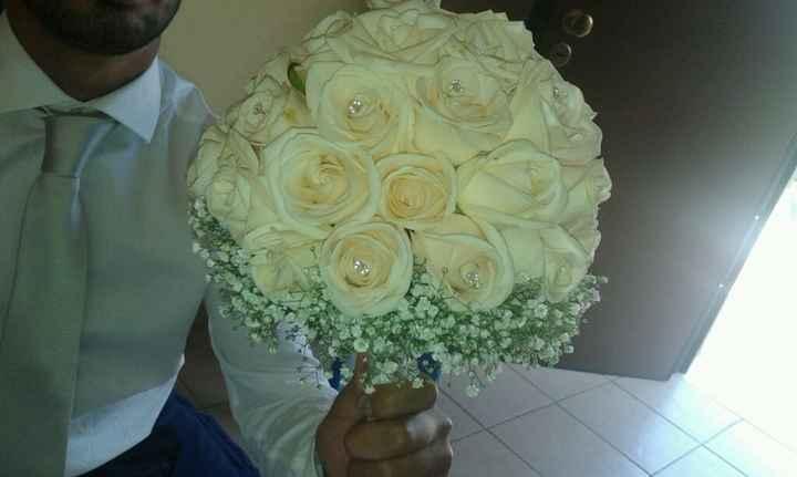 Bouquet cipria/rosa - 1
