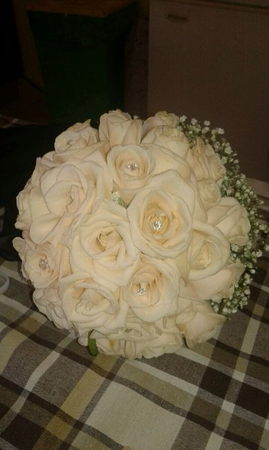 Bouquet cipria/rosa - 2