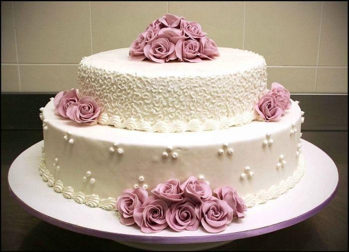 Torte Nuziali Panna Idee Immagine Torta