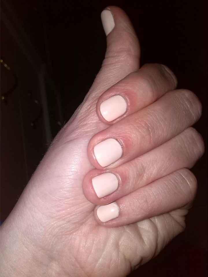 prima prova unghie