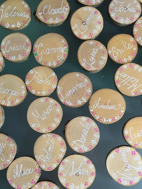 Segnaposto Matrimonio In Legno : Segnaposto legno pagina fai da te forum matrimonio
