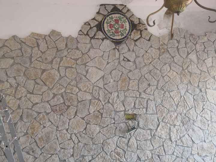 Soggiorno...parete in pietra si o no?? 🤔 - 1