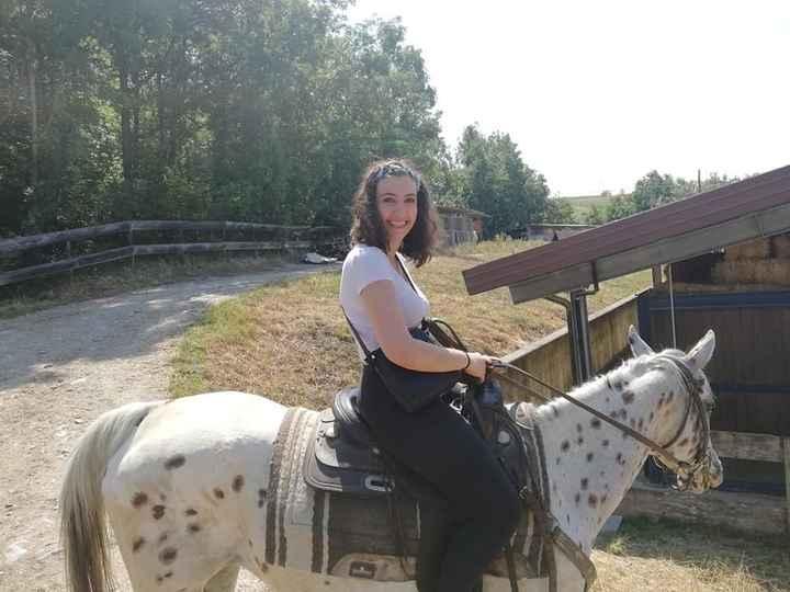 Addio al nubilato a cavallo