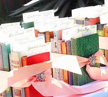 Tableau con libri