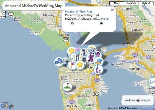 wedding mapper (free)