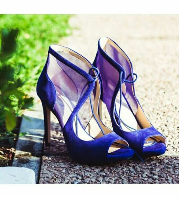 Scarpe blu - 1