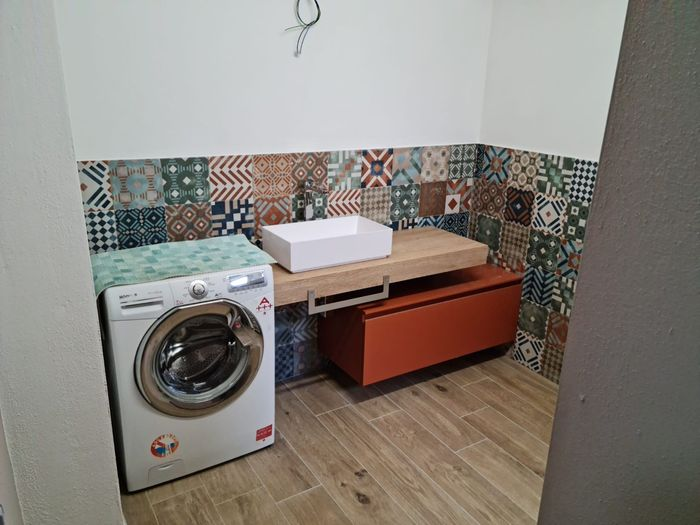 Bagno lavanderia: specchio tondo o quadrato o .... - 1