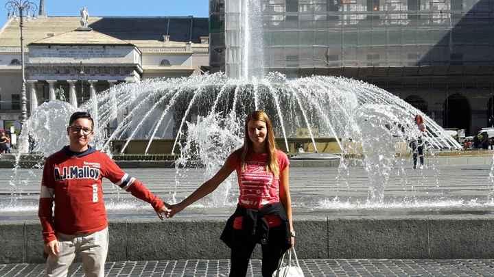 Genova - viaggio di nozze