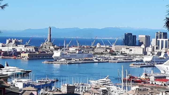 Genova - porto, lanterna