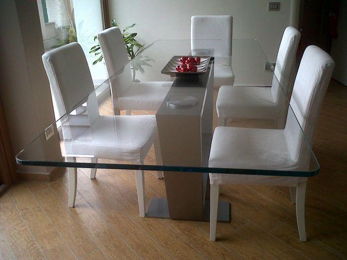 Il tavolo del soggiorno vivere insieme forum - Tavolo pranzo cristallo ...