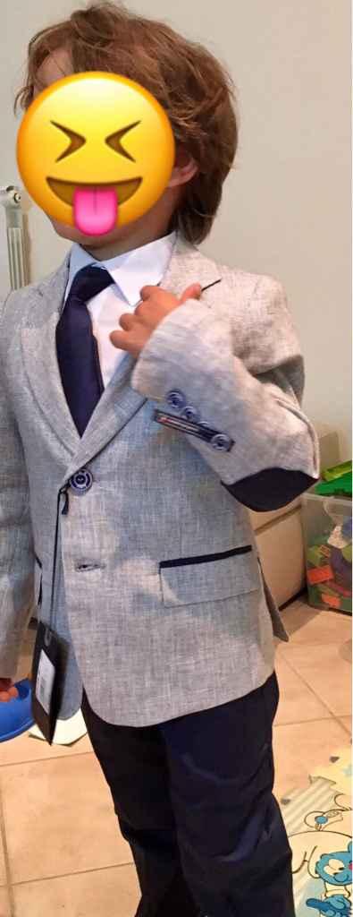 Vestito paggetto portafedi - 1