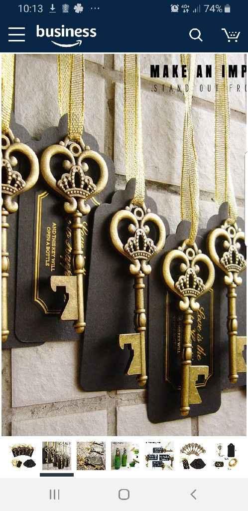 Bomboniere a forma di chiave apribottiglie - 1