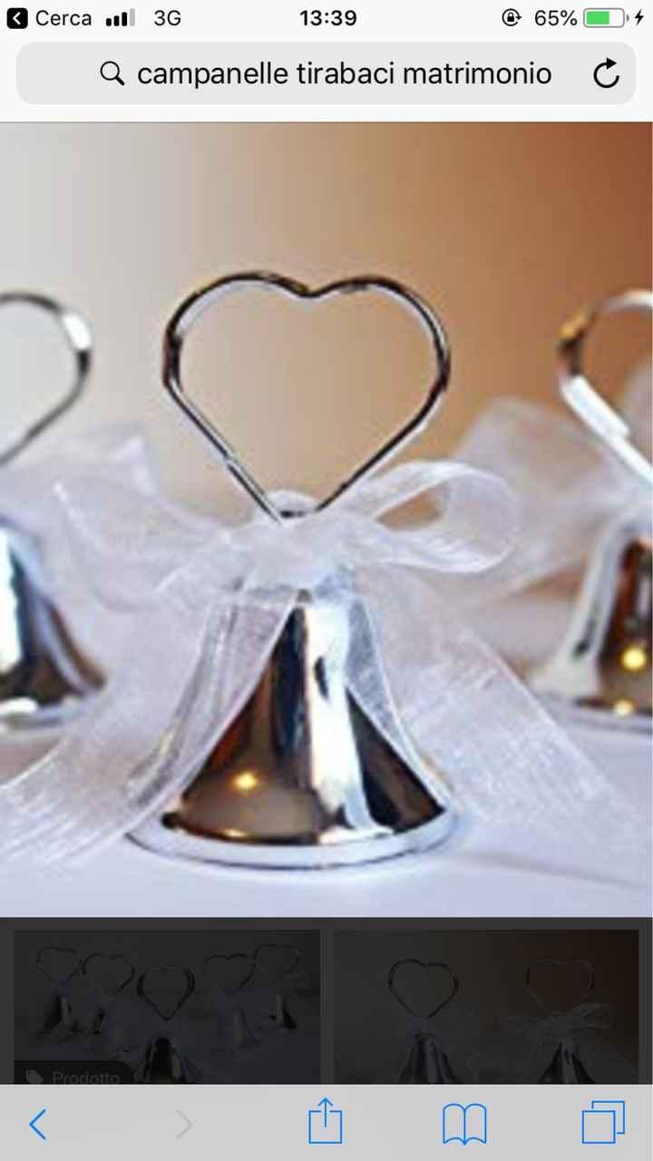 Campanelle tirabaci e tema matrimonio - 1