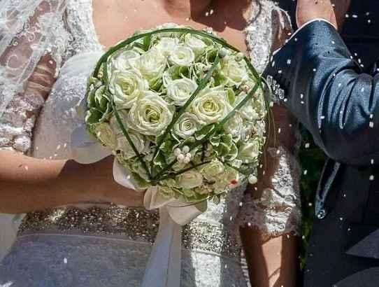 Bouquet tondo - 1