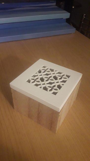 Bomboniere fai da te scatolina - 1