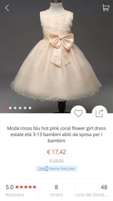 f2fe376d5f9a5 Abito damigella bambina on-line - Moda nozze - Forum Matrimonio.com
