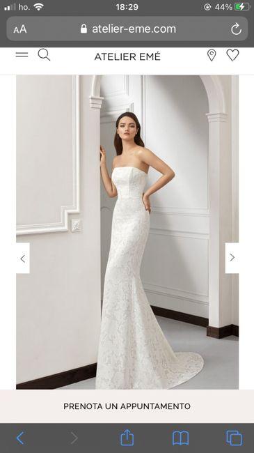 Il mio abito da sposa non mi convince piú 2